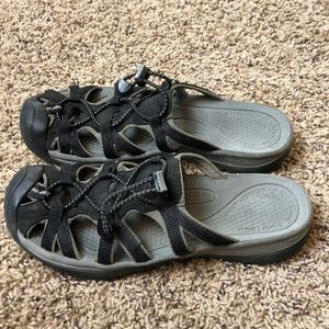 Keen Backless Outdoor Sandals Size 8.5